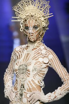 "biblesbilletdoux: ""JEAN PAUL GAULTIER Spring 2007 Couture """