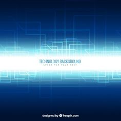 Technology background in neon style l Free Vector Tech Image, Vector Technology, Neon Style, Technology Background, Pumas, Text Design, Vectors, Vector Free, Photoshop