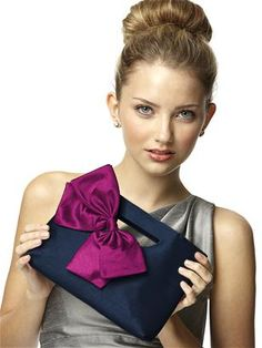 navy and purple or pink brides help! :  wedding bridesmaid colors flowers fuschia gray navy silver summer tuxes wedding 5820WM MIDN Dts