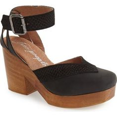 Free People - Walk This Way Ankle Wrap Clog