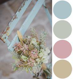Color Palette Inspiration: Pink, Mint and Blue Hues