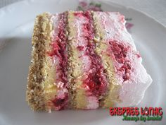 Torta sa malinama i plazmom – Ekspres lonac Sweet Desserts, Sweet Recipes, Cake Recipes, Dessert Recipes, Baking Recipes, Italian Desserts, Torte Recepti, Kolaci I Torte, Rasberry Cake