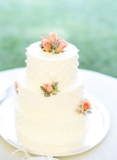 Wedding Cakes  :     Picture    Description  Dotted cake: www.stylemepretty… | Photography: Sweet Tea – www.sweetteaphoto…    - #Cake https://weddinglande.com/planning/cake/wedding-cakes-dotted-cake-www-stylemepretty-photography-sweet-tea-www-sweetteaphoto/