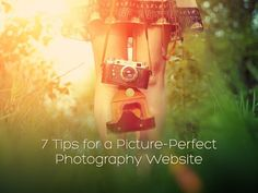 So, you're a photographer and you need a website, right? Here are 7 tips for a picture-perfect photography website!