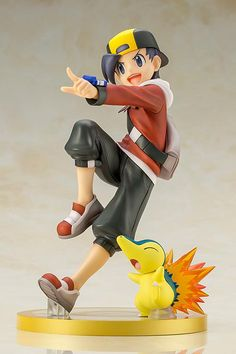 Anime ARTFX J Pokemon Series Green With Eevee PVC Figure Toy IN BOX Limited