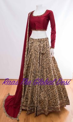 Explore from latest collection of lehengas online. Shop for lehenga choli, wedding lehengas, chaniya choli, ghagra choli & designer lehengas in variety of colors. Party Wear Indian Dresses, Indian Fashion Dresses, Indian Designer Outfits, Indian Outfits, Bridal Dresses, Designer Dresses, Half Saree Lehenga, Lehenga Choli Online, Indian Lehenga