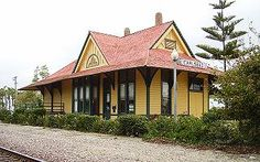 Haunted Carlsbad Village Train Station This small train station has its share of paranormal activity. People have reported hearing strange n...