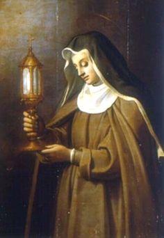 Novena a Santa Chiara di Assisi Francis Of Assisi, St Francis, Catholic Art, Catholic Saints, Clare Of Assisi, St Clare's, Santa Teresa, Some Image, Religion