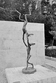 Acrobat Hares , Barry Flanagan