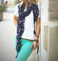Summer outfit / conjunto para el verano. #Moda, #Fashion, #Summer