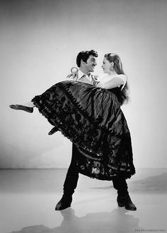 Judy Garland and Gene Kelly in The Pirate (1948).