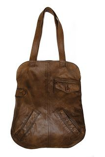 "elsahats: Yara Salazar ""Upcycled leather Bags"""