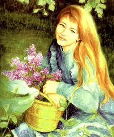 Art Muszynska-Zamorska, Poland Sci Fi Music, Lilac Tree, Animation, Anne Of Green Gables, S Girls, Girl Power, Poland, Disney Characters, Fictional Characters