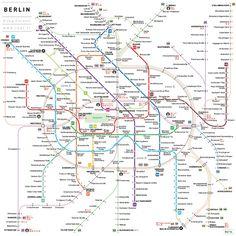 Berlin: Manche Routenverläufe wollte Cerovic vereinfachter darstellen und die...