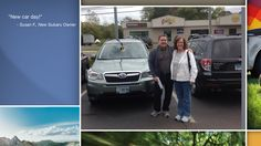 Dear Susan Fanning   A heartfelt thank you for the purchase of your new Subaru from all of us at Premier Subaru.   We're proud to have you as part of the Subaru Family.