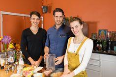 Fabio, Dirk & Carolina in the Organice Your Life® kitchen!