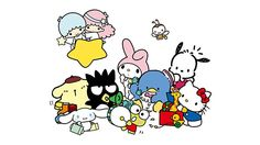 '80s and '90s kids, how many of these Sanrio characters can you name? - I can relate! <3  #90skid