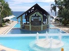 Acuatico Beach Resort, Laiya, Batangas, Philippines Batangas Philippines, Places Ive Been, Places To Go, Beach Resorts, Cabin, House Styles, Outdoor Decor, Home, Cabins
