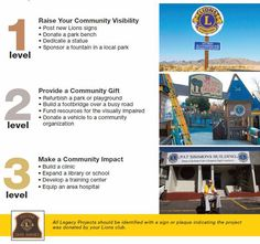 Centennial Community Legacy Projects