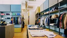 Steve Sanderson of Oi Polloi Talks New London Store and UK's Changing Menswear Landscape London Today, New London, Oi Polloi, London Look, Streetwear Shop, Retail Interior, Retail Space, Contemporary Fashion, Retail Design