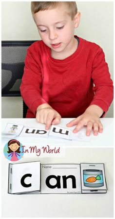 AN Word Family Flip-Flap Book FREE