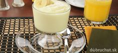 Banánový krém Glass Of Milk, Rum, Food, Essen, Meals, Rome, Yemek, Eten