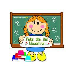 Tarjeta para compartir del dia del maestro | frasesytarjetas.com