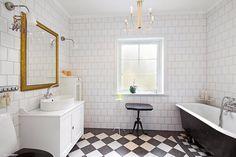 Bildresultat för svartvitt badrumsgolv