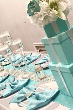 Tiffany and Company Bridal/Wedding Shower Party Ideas | Photo 4 of 7