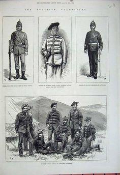 Scottish Volunteers c1881