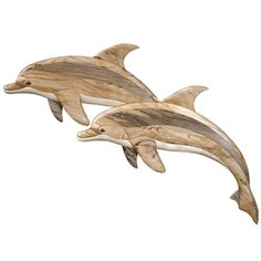 Dolphin Duo - Intarsia - Judy Gale Roberts Studio