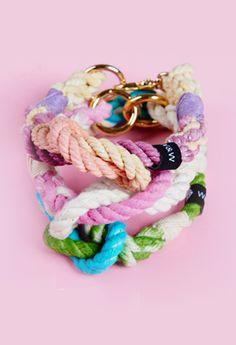 Witty&White handmade sweet rope dog's collar. Bracelets, Sweet, Dogs, Handmade, Jewelry, Candy, Hand Made, Jewlery, Jewerly