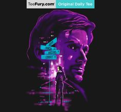 """""""Purple Man"""" by zerobriant is available on #TeeFury."""