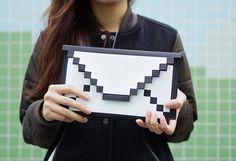 Bem Legaus!: Bolsa envelope