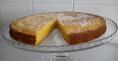 Ingredientes: 1 lata pequena de polpa de Manga (+ ou - 400g) 200g de Açúcar 150g Margarina 2 dl Agua 300g Farinha 4 Ovos Preparação: 1...