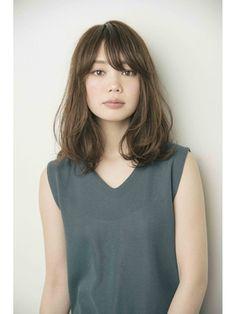 2016メルトカラーの無造作ウェーブ【GARDENtokyo竹ヶ鼻唯】 - 24時間いつでもWEB予約OK!ヘアスタイル10万点以上掲載!お気に入りの髪型、人気のヘアスタイルを探すならKirei Style[キレイスタイル]で。 Medium Hair Styles, Curly Hair Styles, Japan Garden, Layered Hair, Hair Inspiration, Bangs, Your Hair, Hair Makeup, Hair Cuts