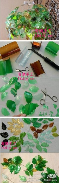 DIY Garrafas pet