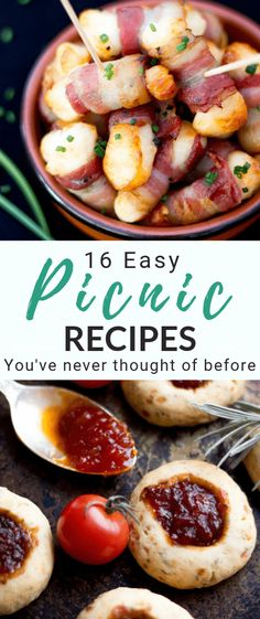 Need some new picnic ideas? You need these 20 easy picnic recipes that you've ne… Need some new picnic ideas? You need these 20 easy picnic recipes that you've never thought of before! Romantic Picnic Food, Picnic Date Food, Family Picnic Foods, Picnic Snacks, Snacks Für Party, Picnic Ideas, Good Picnic Food, Dinner Ideas, Comida Picnic