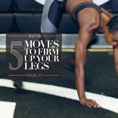 Fitness Model Lauren Williams shows us her 5 favorite moves for firm and toned legs.
