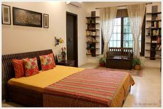 Eclectic Indian bedroom indian home decor Keeping It Elegantly Eclectic (Home Tour)