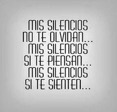 Mis Silencios*...