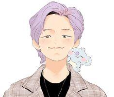 Character Art, Character Design, Eren, Kpop Drawings, Bts Rap Monster, Bts Funny Videos, Bts Chibi, Bts Fans, Kpop Fanart