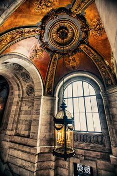 Beautiful Hanging Lantern New York Public Library, United States