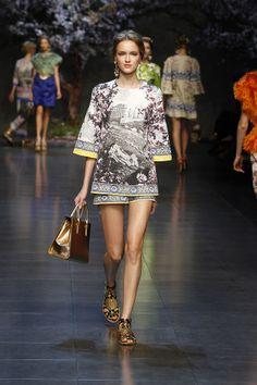 Dolce & Gabbana Gallery Passerella Sfilata Donna – Estate 2014