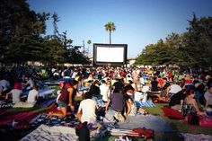 Your Guide To Outdoor Movie Screenings In Los Angeles #summer2014 #losangeles #outdoormovies