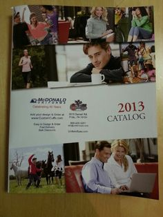 Our new career apparel catalog.  Let us know if you want us to send you one.