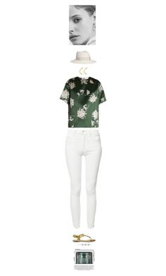 """""""Algae"""" by j-mgreene ❤ liked on Polyvore featuring Mother, Gucci, Rochas, Maison Michel, Stella Valle, Jason Wu and xO Design"""
