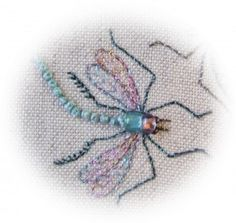 French knot dragonfly