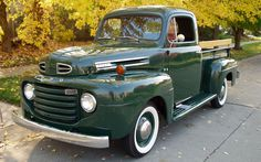 rare old pickups | Car of the Week: 1948 Ford F-1 Pickup | Old Cars Weekly