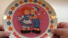 1978 Raggedy Ann Plate Raggedy Ann, All Video, Dory, Plates, Make It Yourself, Videos, Blog, Licence Plates, Dishes